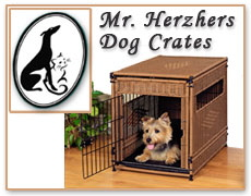 Wicker Dog Crate at PetStreetMall