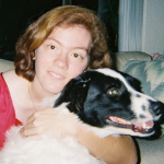 Dog Obedience Trainer | Dog Behaviorist | DogWhisperWoman, Rena Murray, with a shelter dog, a dog behavior modification success story