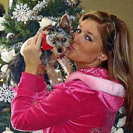 Second Winner Holiday Dog Pictures